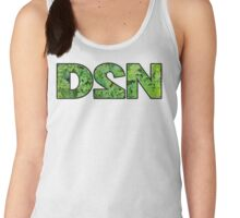 "GiShWhes D2N ""Death to Normalcy"" Kale Tank--Black (Support Random Acts Charity!) Women's Tank Top"