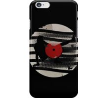 Vinyl Records Vintage Retro Grunge T-Shirt! DJ...Put the record on! iPhone Case/Skin