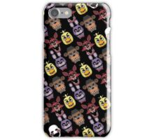 FNAF Five Nights All Over Print Multi Character iPhone Case/Skin