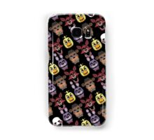 FNAF Five Nights All Over Print Multi Character Samsung Galaxy Case/Skin