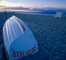 Boat on the New Jersey Shore by George Oze