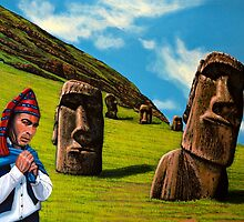 Chile Easter Island by PaulMeijering