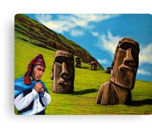 Chile Easter Island Canvas Print