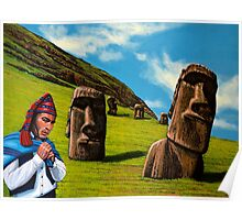 Chile Easter Island Poster