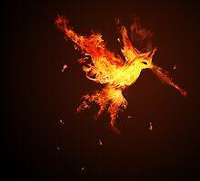 Hot Hummingbird Phoenix! by Knyx428