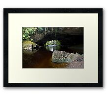 Moria Gate. Framed Print