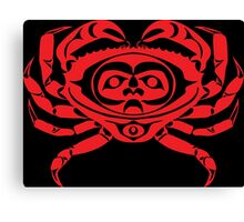Red Rock Crab Canvas Print