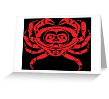 Red Rock Crab Greeting Card