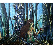 Forest Fae Photographic Print