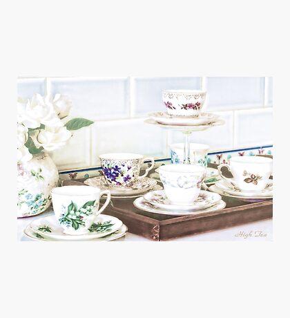 High Tea Photographic Print