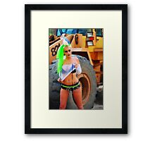 Goth_Machine_Soft_Focus Framed Print