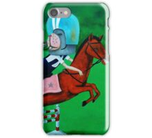 horseback riding tale iPhone Case/Skin