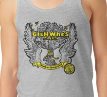"GiShWhes ""Death to Normalcy"" Kale Tank--YELLOW (Support Random Acts Charity!) Tank Top"