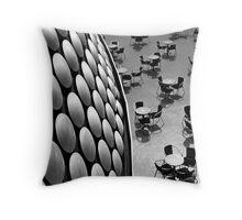 Selfridge Building Birmingham Throw Pillow