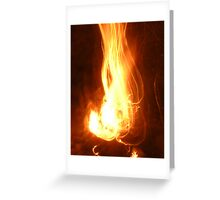 Whitney Flame Greeting Card