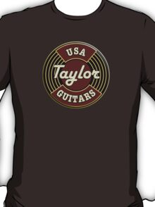USA Taylor Guitars  T-Shirt