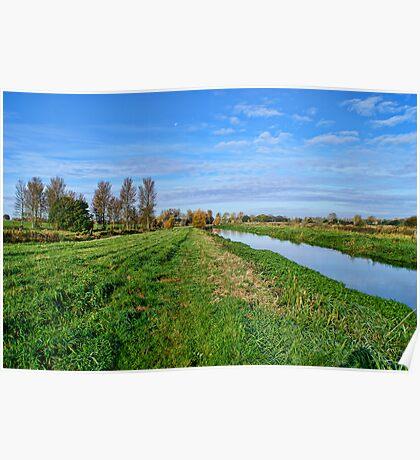 Norfolk Landscape UK Poster