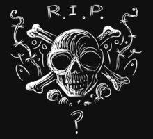 R.I.P. Skull by Rustyoldtown