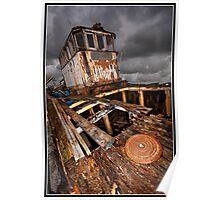 Abandon ship! Poster