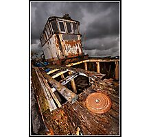 Abandon ship! Photographic Print