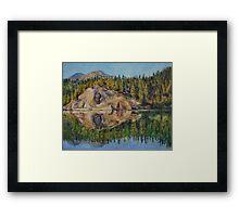 Lady Lake Framed Print