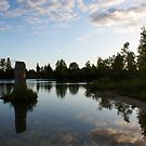 reflection in the water by katievphotos