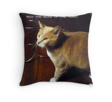 "Max The ""Boss"" Throw Pillow"