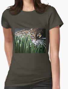 Ocelot  Womens Fitted T-Shirt