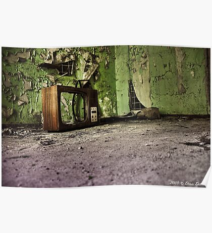 old tv (HDR) Poster