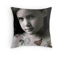 Natural Grace Throw Pillow