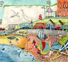 A make believe seaside scene by doatley
