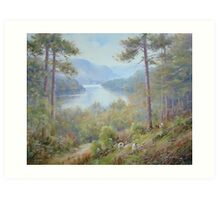Up from Thirlmere, Cumbria, England Art Print