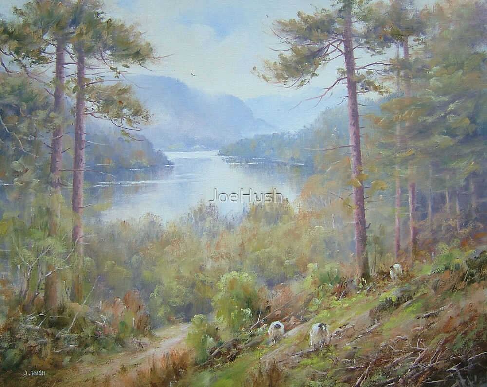 Up from Thirlmere, Cumbria, England by JoeHush