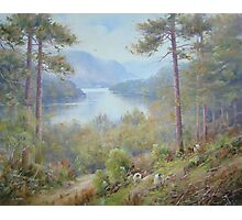 Up from Thirlmere, Cumbria, England Photographic Print