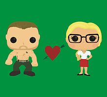 Oliver and Felicity  by AnArielView