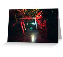 Christmas Lights - 2 Greeting Card