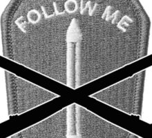 U.S. Infantry - Follow Me Sticker
