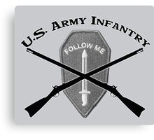 U.S. Infantry - Follow Me Canvas Print