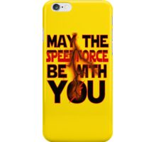 Speedforce - R iPhone Case/Skin
