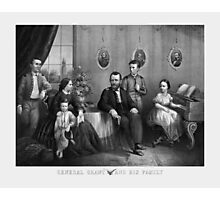 General Grant And His Family Photographic Print