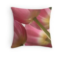 Forest of Tulips Throw Pillow