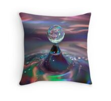 The Lost Drop Throw Pillow