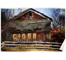 The Old Cider Barn Poster