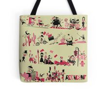 A is for Accident Tote Bag