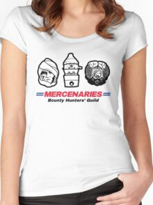 Mercenaries 2 Women's Fitted Scoop T-Shirt