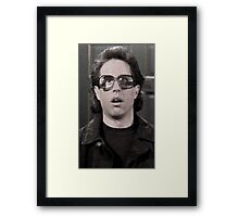 Jerry Wearing Glasses To Fool Lloyd Braun Framed Print