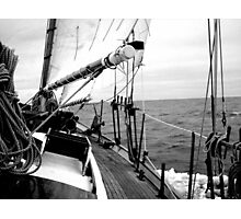 Cracking Along The Wine-dark Sea Photographic Print