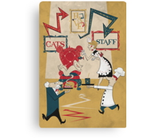 Cats Have Staff Canvas Print