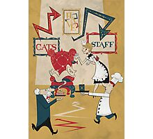 Cats Have Staff Photographic Print