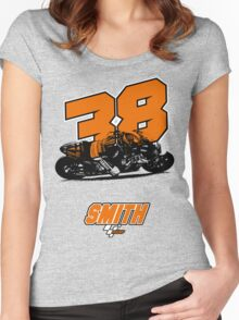 Brad Smith - MotoGP Women's Fitted Scoop T-Shirt